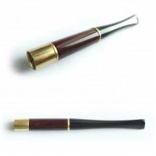 Мундштук для сигарет гладкий короткий з кільцями