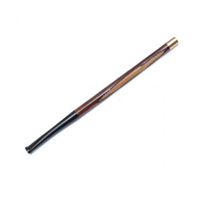Мундштук для сигарет гравированный тонкий длинный