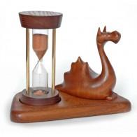 Песочные часы со скульптурой Дракон