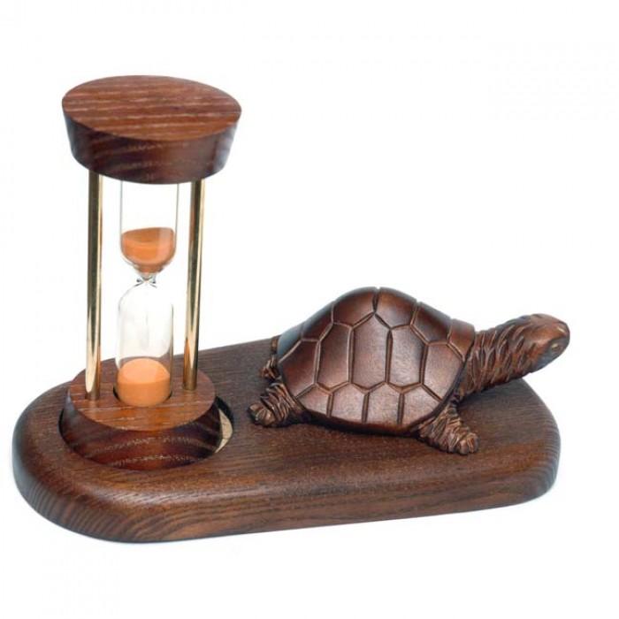Часы песочные со скульптурой Черепаха