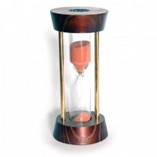 Пісочний годинник №7 Круглий з металевими стійками