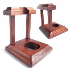 Подставка под курительную трубку Арка №1 с деревянными стойками