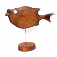Статуэтка деревянная Рыба №2
