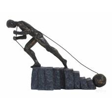 Статуетка бронзова Ніколи не здавайся, ITALFAMA, SR44421