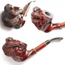 Трубка для куріння Люкс Об'ємна Мавпа
