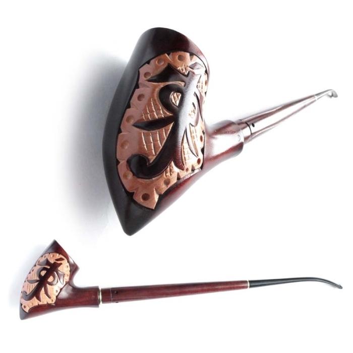 Трубка курительная Толкиен (Иероглиф)