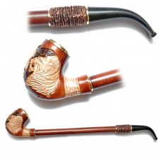 Трубка курительная  Гусар 2 (Лев грива)