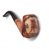 Трубка для куріння Казка (Лев на сітці)