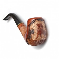 Трубка курительная  Сказка (Лев на сетке)