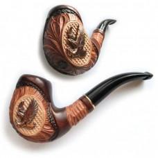 Трубка курительная  Сказка (Беркут металл)
