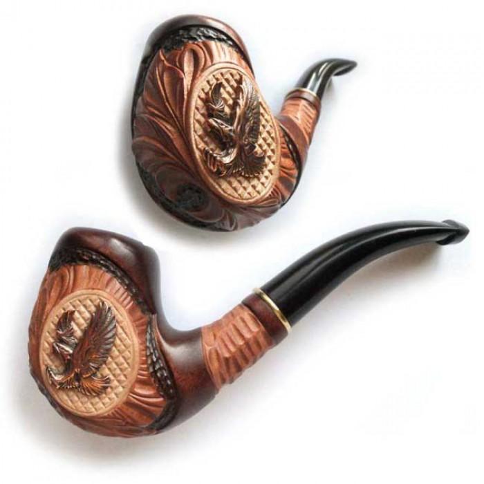 Трубка для куріння Казка (Беркут метал)