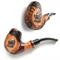 Трубка курительная  Сказка (Лев металл)