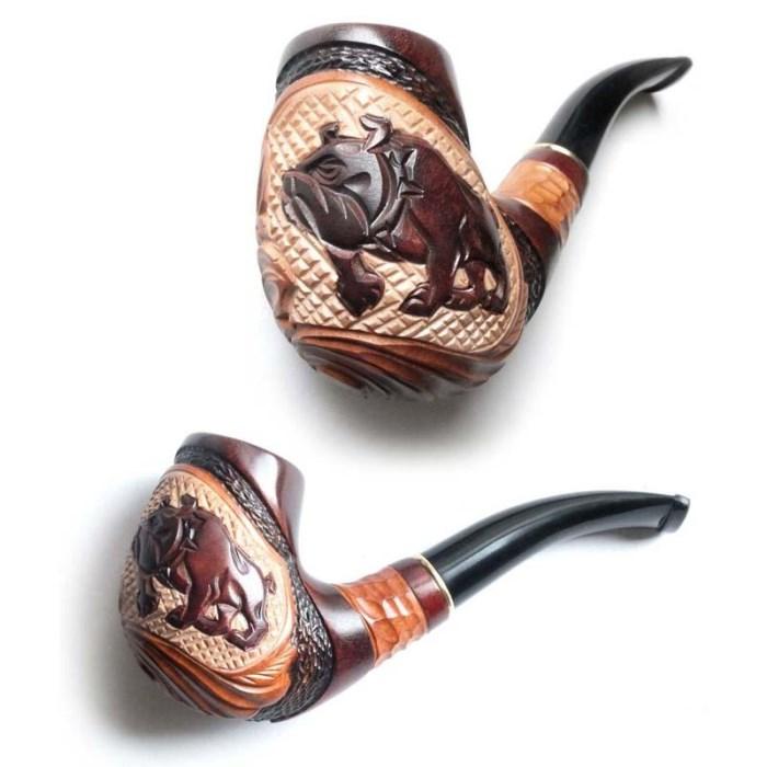 Трубка курительная  Сказка (Бульдог)