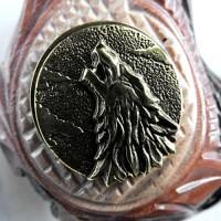 Трубка курительная  Сказка (Волк металл)