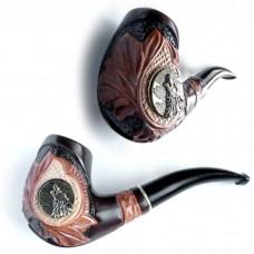 Трубка для куріння Казка (Вовк метал)