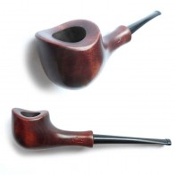Трубка для куріння Хвилинка - Сідло прямий мундштук