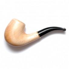 Трубка для курения Бент светлая (кольцо)