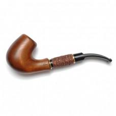 Трубка курительная Bent акрил медь