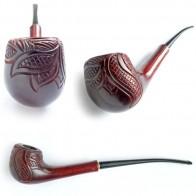 Трубка для курения Миньон - Лесной узор
