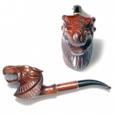 Трубка для куріння об'ємна Люкс Дракон