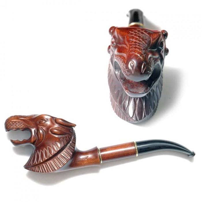 Трубка курительная объемная Люкс Дракон