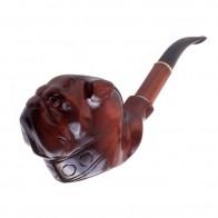 Трубка курительная объемная Люкс Бульдог